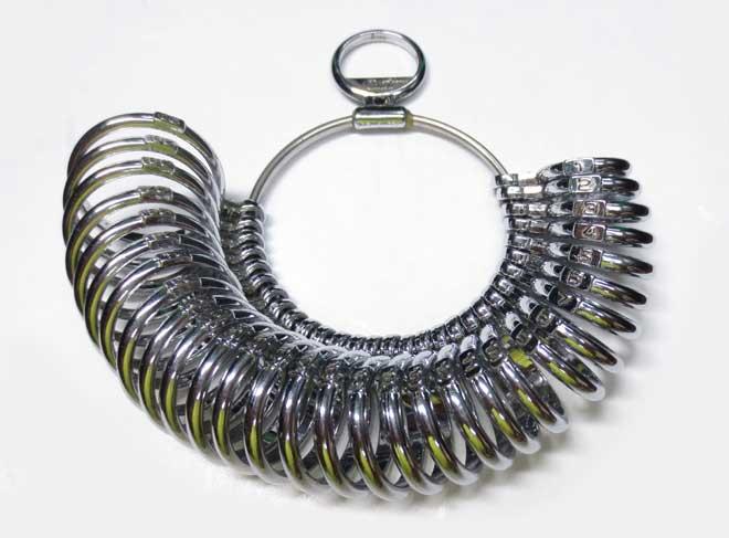 指輪サイズゲージ画像