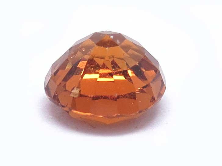 ガーネット(オレンジ)のルース画像・横