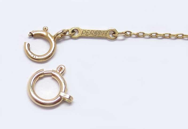 ティファニー18金製ブレス・引き輪(留め具)交換・引き輪6mm