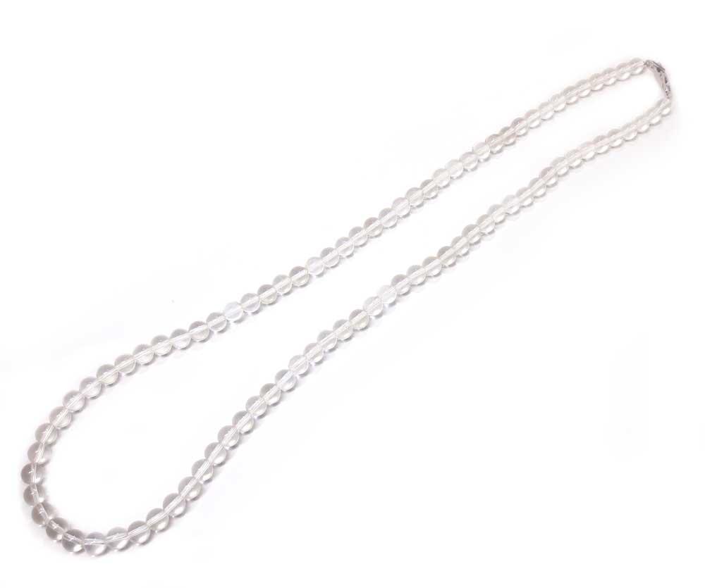 リフォーム前の水晶ネックレス